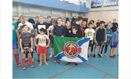 Бойцы из Бердска приняли участие в первенстве Новосибирска по ММА