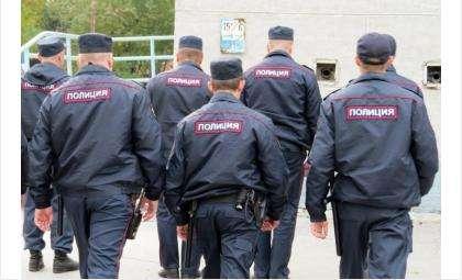 Полицейские прибыли на вызов по факту незаконного проникновения на участок