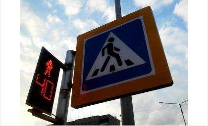 Ребёнок переходил дорогу по правилам