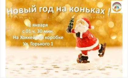 Встретить Новогоднюю ночь на коньках приглашают жителей Бердска
