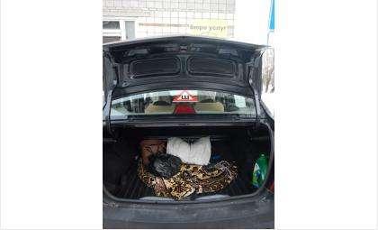 Водителя засунули в багажник