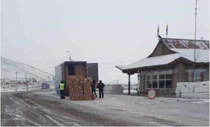 """Машину сибиряков остановили на посту ДПС """"Шивилиг"""""""