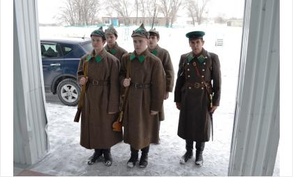 Искитимский музей провел встречу на родине героя-земляка Ивана Коротеева