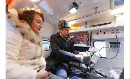 Бердск получил новый автомобиль «скорой помощи»