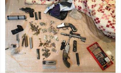 В мастерской нашли в том числе самодельные патроны