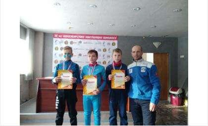 Высокие результаты показали биатлонисты из Бердска на первенстве региона