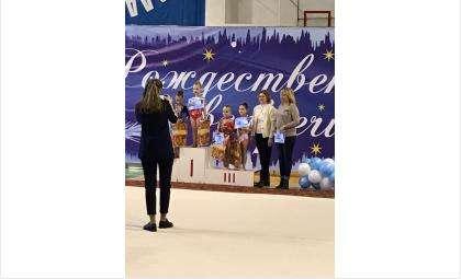 Гимнастки из Бердска заняли первое место в межмуниципальном первенстве