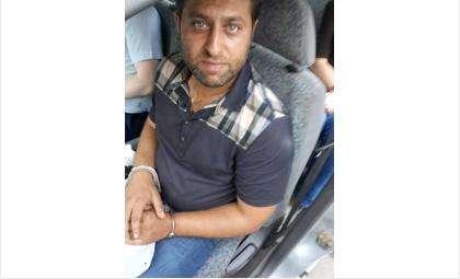 Один из участников группировки при задержании