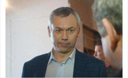 Это первый визит Андрея Травникова в Бердск в статусе губернатора