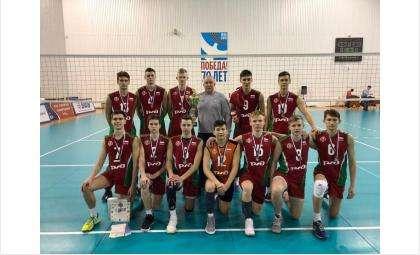 Сборная команда Новосибирской области заняла 2-е место в Первенстве России по волейболу