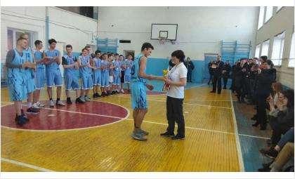 В соревнованиях по баскетболу в комплексной Спартакиаде победили школы №1 и №11