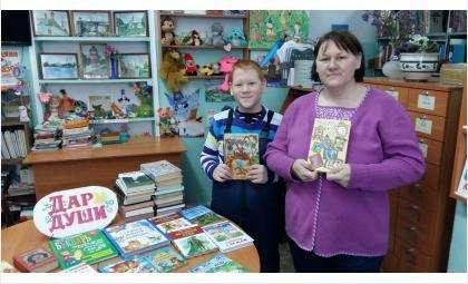 Читатели библиотеки №5 присоединились к акции «Дарите книги с любовью»