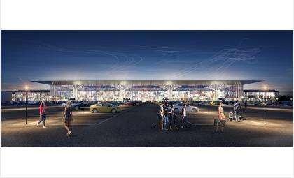 Как это будет - новый облик аэропорта Толмачёво показали жителям региона