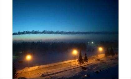 Морозное утро в Бердске