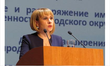 Замглавы Бердска по экономразвитию Жанна Сергеевна Шурова