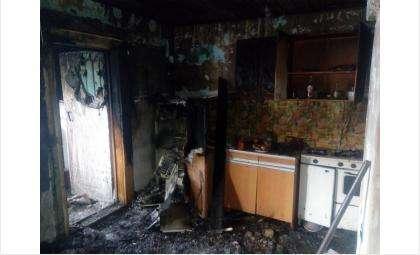 До ожогов обеих рук тушил пожар в своем доме житель Евсино