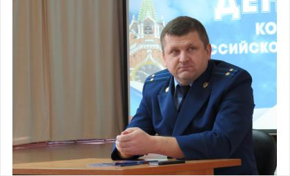 Прокурор Бердска Роман Сивак
