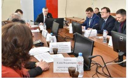 Губернатор Андрей Травников в Искитимском районе