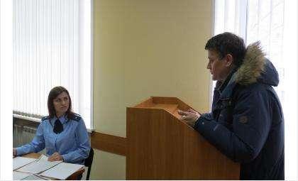 Эксперта Евгения Дударика допросили в суде