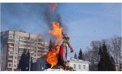 Площадку для сжигания чучела на Масленицу в Бердске оцепят на 50 метров