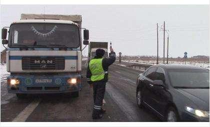 На дорогах будет работать весогабаритный контроль