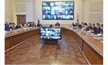 Андрей Травников призвал усилить противопожарную профилактику в майские праздники