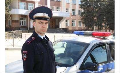 Старший лейтенант полиции Владислав Савченков оперативно доставил сибирячку в роддом