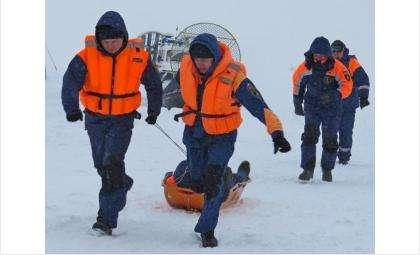 На помощь рыбаку пришли бердские спасатели МЧС