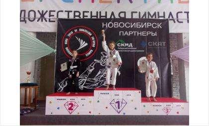 Команда школы №1 из Бердска – призер турнира по джиу-джитсу