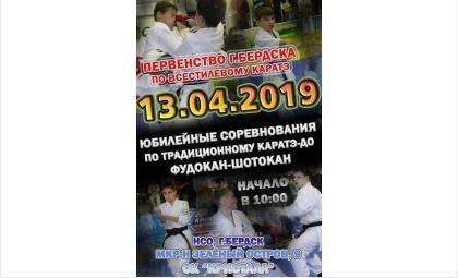 Приглашаем 13 апреля на первенство по всестилевому каратэ
