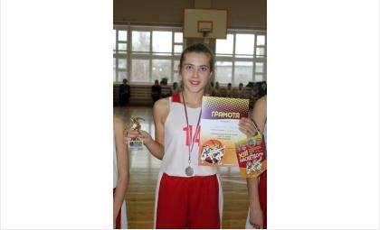 Бердская баскетболистка Дарья Стрекалова