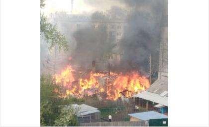 Возгорания в банях привели к крупным пожарам