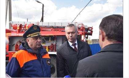 Губернатор проконтролировал усиление мер противопожарной безопасности