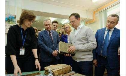 Министр культуры России Владимир Мединский посетил Новосибирскую область