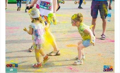 Всероссийский фестиваль красок - 1 июня в Искитиме