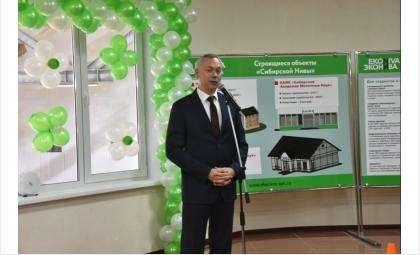 Губернатор в Маслянино открыл комплекс производительностью 62 тыс. тонн молока в год