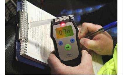 За неделю ГИБДД задержала 181 нетрезвого водителя в регионе