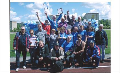 Пенсионеры из Бердска – победители летней Спартакиады региона