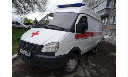 Ребёнка увезли в больницу