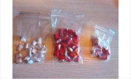Закладчики прячут наркотики в такие пакеты