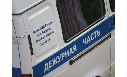 Полицейские оперативно задержали злоумышленника