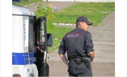 Полицейские быстро задержали грабителя