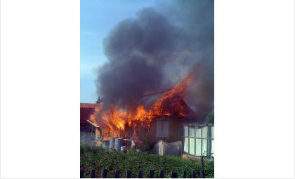 Погиб во время пожара дачник в СНТ «Швейник» в Бердске