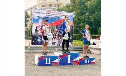Бердская велосипедистка заняла 1 место на первенстве в Кемерово