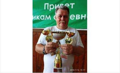 Руководитель бердской команды Сергей Полозюк