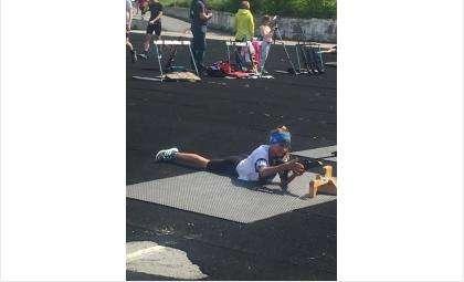 Первенство Бердска по летнему биатлону