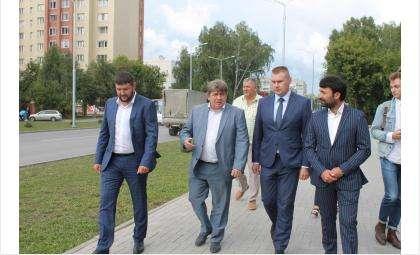 Приемка ул. Лунной в Бердске состоялась 23 августа 2019 года