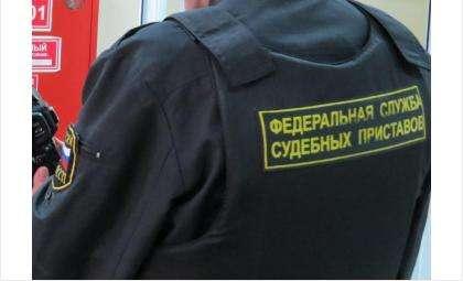 Hyundai Elantra жительницы Бердска приставы арестовали за долги