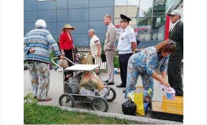Овощной базарчик у «Меркурия» разогнали чиновники и полицейские в Бердске