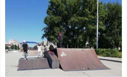 В скейтпарке Бердска отменили фестиваль уличных культур и экстремальных видов спорта